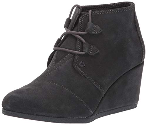 TOMS Womens Kala Forged Iron Grey Suede 6.5 B (M)