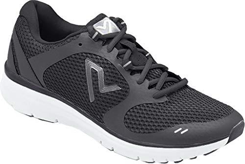 VIONIC Men's Ngage 1 Black Open Mesh/Black Athletic Shoe 11.5