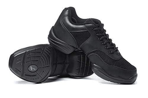 Adult Split-Sole Sneaker T8000BLK07.5 Black 7.5 M US