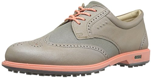 ECCO Women's Classic Hybrid Golf Shoes, Weiß, Grau (50420NAVAJO BROWN/WARM GREY),37 EU/6-6.5 M US