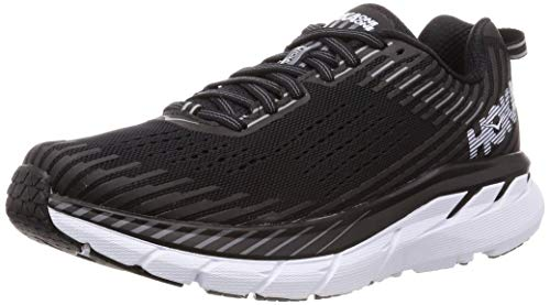 HOKA ONE ONE Women's Clifton 5 1093756 5 Black/White