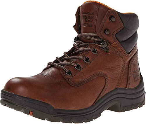 Timberland PRO 55398 Women's Titan Soft Toe 6-in Work Boots Coffee