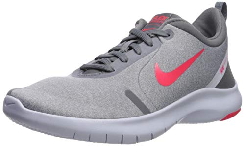 Nike Women's Flex Experience Run 8 Shoe, Cool Red Orbit-Football Grey, 5 Regular US