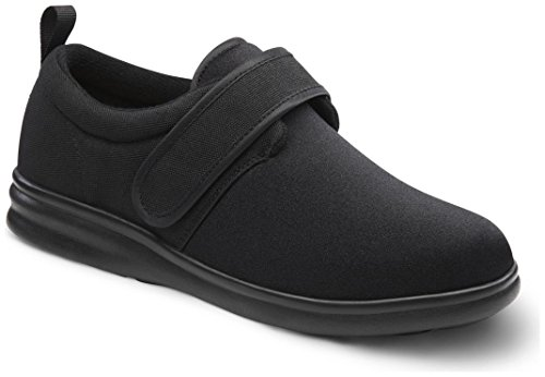 Dr. Comfort Women's Marla Black Stretchable Diabetic Casual Shoes