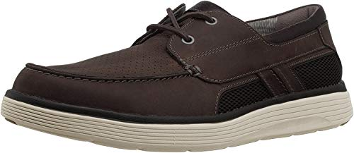 Clarks Un Abode Step Mens Oxford Brown Leather 14