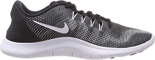 Nike Mens Flex 2018 RN Running Shoes (9) Black/White