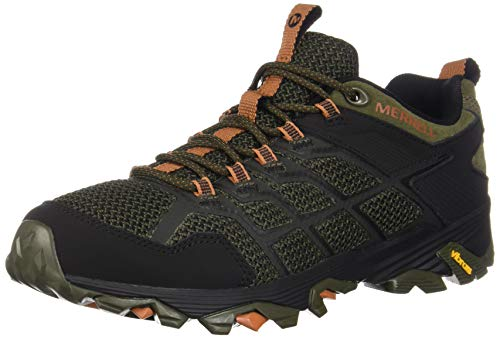 Merrell Men's Moab FST 2 Hiking Shoe, Olive/Adobe, 12.0 M US