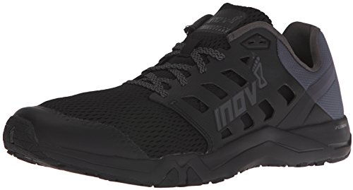 Inov-8 Men's All Train 215 Cross Trainer, Black/Grey, 11.5 N US