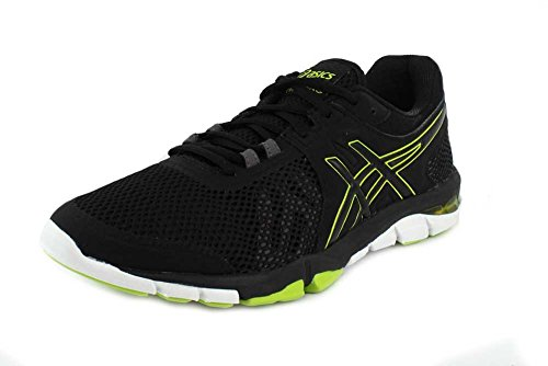ASICS Mens Gel-Craze TR 4 Black/Neon Lime Cross Trainer - 11