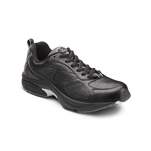 Dr. Comfort Winner Plus Men's Therapeutic Diabetic Extra Depth Shoe: Black 9.5 Medium (B/D)