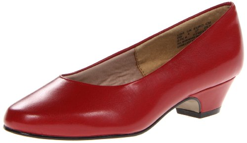 Hush Puppies Women's Angel II Dress Pump, Red Elegance, 5.5 Medium US