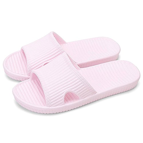 MAIZUN Slippers Non-Slip Shower Sandals House Indoor Floor Slipper Slide Bath Shoes for Adult Couples (5-6.5 US/ 9.25