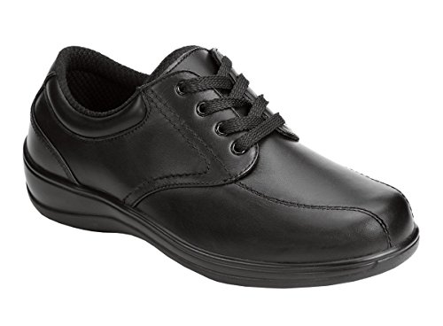 Orthofeet Proven Heel and Foot Pain Relief. Extended Widths. Orthopedic Diabetic Women's Shoes, Lake Charles Black