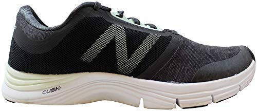 New Balance Women's 711 v3 Cross Trainer, Steel/Black Heather, 10 B US