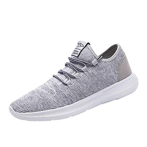 KEEZMZ Men's Running Shoes Fashion Breathable Sneakers Mesh Soft Sole Casual Athletic Lightweight