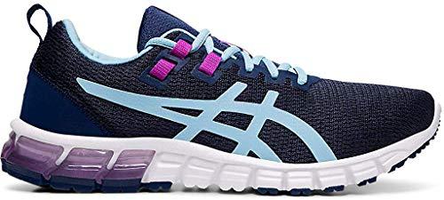 ASICS Women's Gel-Quantum 90 Running Shoes, 5M, Blue Expanse/Heritage Blue