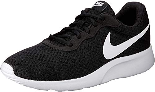 Nike Men's Tanjun Running Sneaker Black/White 10