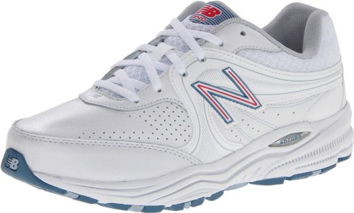 New Balance Women's ww840, White/Pink, 9.5 B US