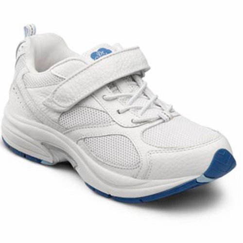 Dr. Comfort Woman Victory Leather/Mesh Tennis Shoes