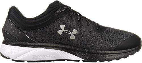 Under Armour Men's Charged Escape 3 Running Shoe, Black (001)/White, 7