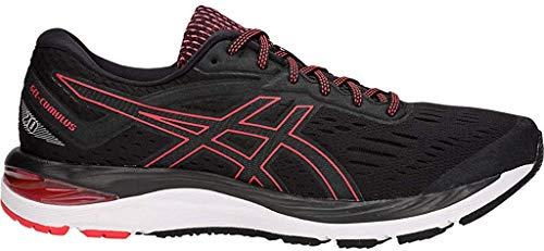 ASICS Men's Gel-Cumulus 20 Running Shoes, 7M, Black/RED Alert
