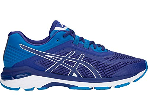 ASICS Men's GT-2000 6 Running Shoes, 11.5M, Blue Print/Race Blue