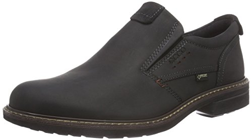 ECCO Men's Turn Gore-TEX Slip On, Black/Black, 42 EU/8-8.5 M US