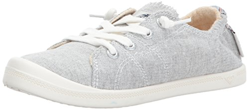 Roxy Women's Rory Slip On Shoe Sneaker, Grey Ash, 10