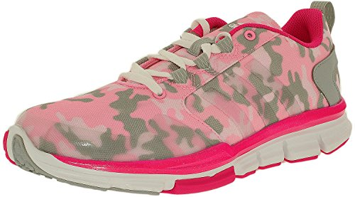 adidas Speed Trainer 2.0 Camo Womens Running Shoe 12.5 Pink Glow/Shock Pink