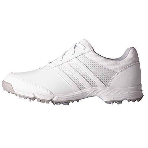adidas Women's Tech Response Golf Shoe, White, 7.5 M US
