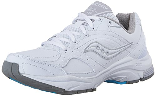 Saucony Women's Progrid Integrity ST2 Sneaker, White/Silver, 9
