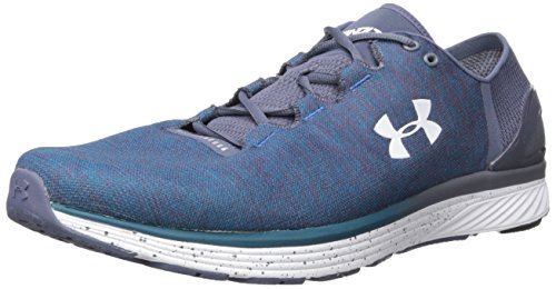 Under Armour Men's Charged Bandit 3 Running Shoe, Bayou Blue (953)/Apollo Gray, 7