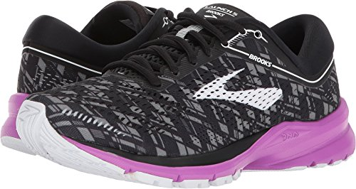 Brooks Launch 5 Grey/Ebony/White 9