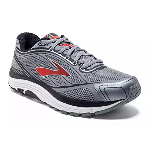 Brooks Dyad 9 Primer Grey/High Risk Red/Black 9