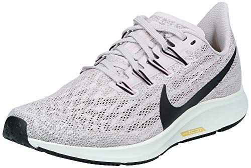 Nike Women's Training Running Shoe, Platinum Violet Black Plum Chalk Sail, 5.5 UK