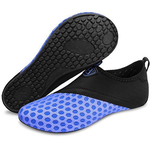 Barerun Barefoot Quick-Dry Water Sports Shoes Aqua Socks for Swim Beach Pool Surf Yoga for Women Men