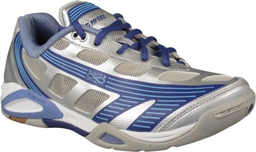 Hi-Tec Infinity Flare 4:SYS Womens Indoor Court Shoe (6) Silver