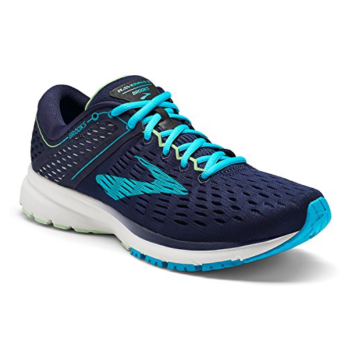 Brooks Women's Ravenna 9 - Navy/Blue/Green - 6.0 - B