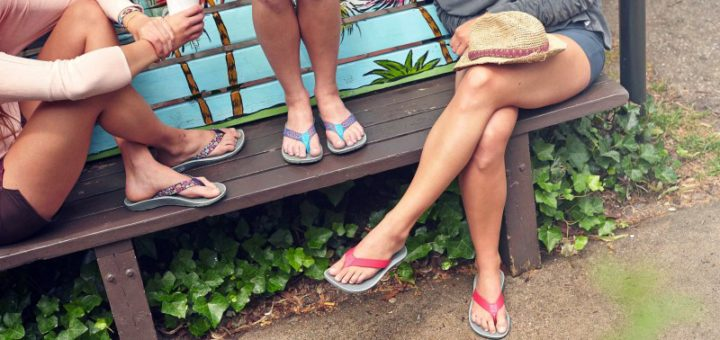 dff9c74ca4b7 The most important aspect of a flip-flop is that they provide the ultimate  comfort. Flip flops have different footbed types that provide different  levels of ...