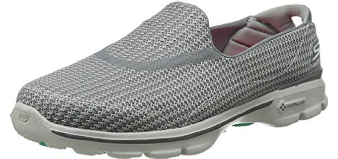 Skechers Women's Performance Go Walk 3 - Walking Shoe for Travel and Site Seeing