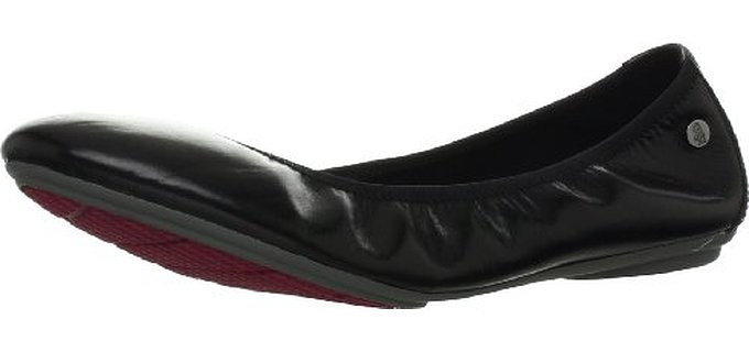 Hush Puppies Women's Chaste Ballet - Slip on Flats for Work