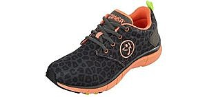 Zumba Women's Fly Print - Zumba Dance Shoes for Bad Knees