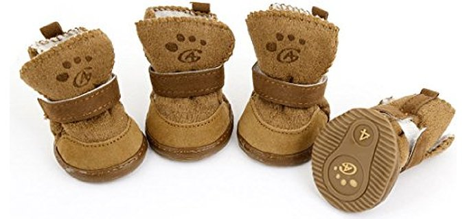 Urbest Dog's Detachable Closure - Shoes for Small Dogs