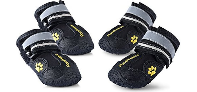 Uarter Dog's Boots - Waterproof for Larger Dogs