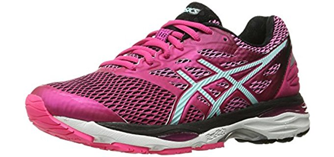 Asics Women's Cumulus 18 - Back Pain Gym Shoes