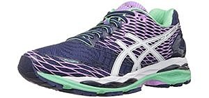 Asics Women's Gel Nimbus 18 - Supportive Knee Pain Running Shoe