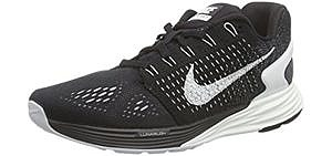 Nike Women's Lunar Glide 7 - Running Shoe for Flat Feet