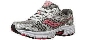 Saucony Women's Cohesion 8 - Stability Running Shoe for Supination