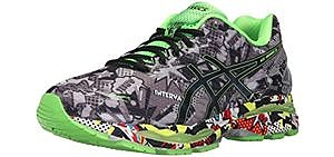 Asics Men's Gel Nimbus 18 - Supportive Knee Pain Running Shoe