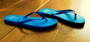 Holiday Beach Sandal Summer Blue Flip Flops